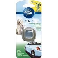 Ambientador coches desechable mascotas AMBIPUR, pack 1 unid.