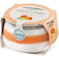 Yogur ecológico de mango EL PASTORET, tarro 135 g