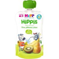 Bolsita de pera-plátano-kiwi HIPP, doypack 100 g
