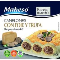 Canelones de foie-trufa MAHESO, caja 300 g