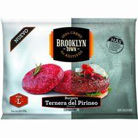 Burger premium ternera del Pirineo L BROOKLYN TOWN, bolsa 260 g