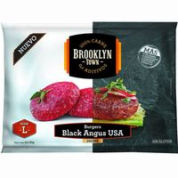 Burger deluxe black angus USA L BROOKLYN TOWN, bolsa 260 g