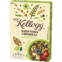 Granola con chia-centeno-sultana WK KELLOGG, caja 300 g
