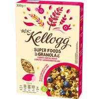 Granola con arándano-espelta-sultana WK KELLOGG, caja 300 g