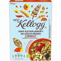 Granola sin azúcar de albaricoque-semilla WK KELLOGG, caja 300 g