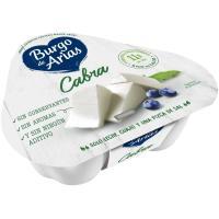 Queso fresco de cabra BURGO DE ARIAS, pack 3x70 g