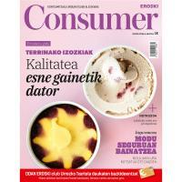 Revista CONSUMER E. euskera, unidad