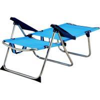 Silla 4 posiciones aluminio textiline 73x64x105 cm 2,4 kg, 1 ud