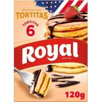 Preparado tortitas ROYAL, caja 120 g