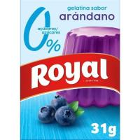 Gelatina arándanos 10 Kcal ROYAL, caja 31 g
