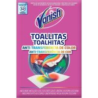 Toallitas antitransferencia de color VANISH Gold, caja 16 unid.