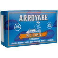 Mejillón en escabeche 8/12 piezas ARROYABE, lata 115 g