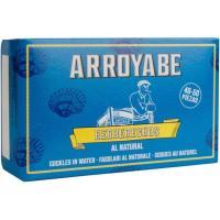 Berberechos al natural 40/50 piezas ARROYABE, lata 63 g