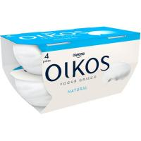 Yogur griego natural OIKOS, pack 4x110 g