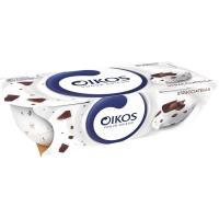 Yogur griego de straciatella OIKOS, pack 2x110 g