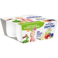Postre 3 frutas MI PRIMER DANONE, pack 4x100 g