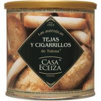 Tejas-cigarrillos de Tolosa CASA ECEIZA, lata 160 g