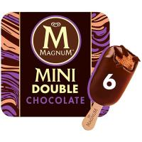 Bombón mini doble choco MAGNUN, pack 6x50 g