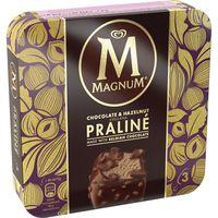 Bombón Praliné chocolate&avellana MAGNUN, pack 3x72 g