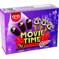Classic Movie Time Mix CORNETTO, pack 6x40 g