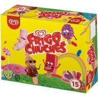 Helado de chuches FRIGO, 15 uds., caja 261 g