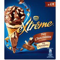 Cono Extreme 3 chocolates NESTLÉ, pack 4x72 g