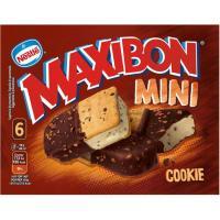 Maxibon mini Cookie NESTLÉ, 6 uds., caja 354 g