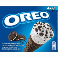 Cono cookies OREO, 4 uds., caja 250 g