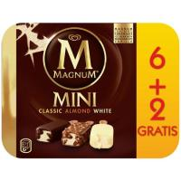 Bombón mini clásico-almend.-blanco MAGNUN, 6+2 uds., caja 447 g