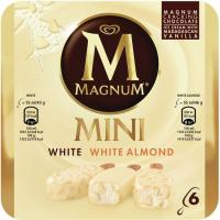 Bombón mini blanco mix MAGNUM, caja 267 g
