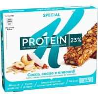 Barrita protein de choco-coco KELLOGG`S Special K, pack 4x28 g