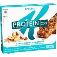 Barritas protein de choco-coco KELLOGG`S Special K, pack 4x28 g