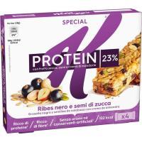 Barrita protein de grosella&semillas SPECIAL K, caja 112 g
