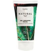 Gel limpiador facial de pepino-guayaba belle Natural, 150 ml