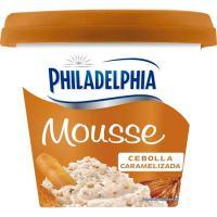 Queso mousse de cebolla caramelizada PHILADELHIA, tarrina 130 g