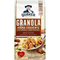 Granola crujiente con nueces pecanas QUAKER, caja 350 g