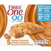 Bizcochitos de cereales salados-caramelo FIBRE ONE, pack 5x24 g