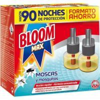 Insecitida eléctrico Max líquido BLOOM, recambio 2 unid.