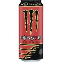 Energético Lewis Hamilton MONSTER, lata 50 cl