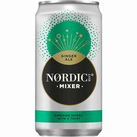 Ginger Ale NORDIC MIST, lata 25 cl
