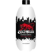 Energético regular CRAZYTIGER, botella 1 litro