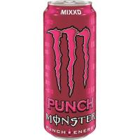 Bebida energética Punch MONSTER, lata 50 cl