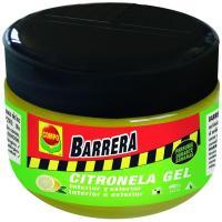 Barrera insecticida citronela gel COMPO, pack 1 uds.