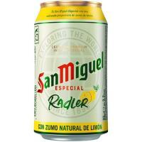 Cerveza Radler SAN MIGUEL, lata 33 cl