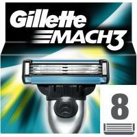 Cargador de afeitar GILLETE Match3, pack 8 uds