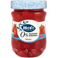 Confitura de fresa HERO Diet, frasco 280 g