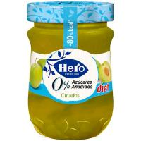 Confitura de ciruela HERO Diet, frasco 280 g