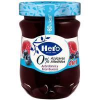 Confitura de arándanos-frambuesa HERO Diet, frasco 280 g