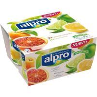 Soja naranja y lima-limón ALPRO, pack 4x125 g