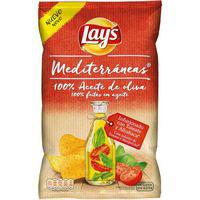 Patatas fritas tomate-albahaca LAY`S Mediterráneas, bolsa 150 g
